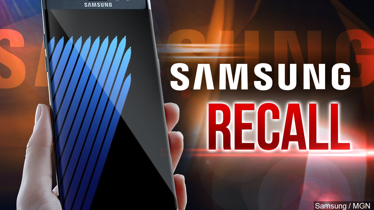 Galaxy Note 7 recall begins in the US